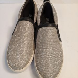 MIA silver and gold  Slip On Loafers Casual Shoe